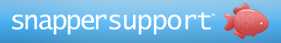 Snapper website CMS tools: Support ticketing system